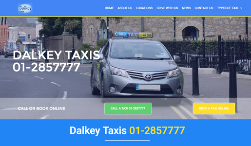 New Website for Dalkey Taxis Launched